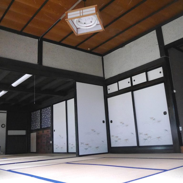 Japanese traditional house tatami sliding door Tome