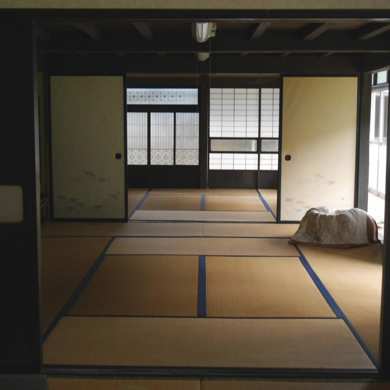 Japanese traditional house tatami sliding door