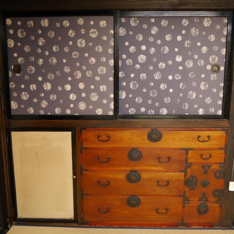 drawer Sendaidansu Japanese tradtional house