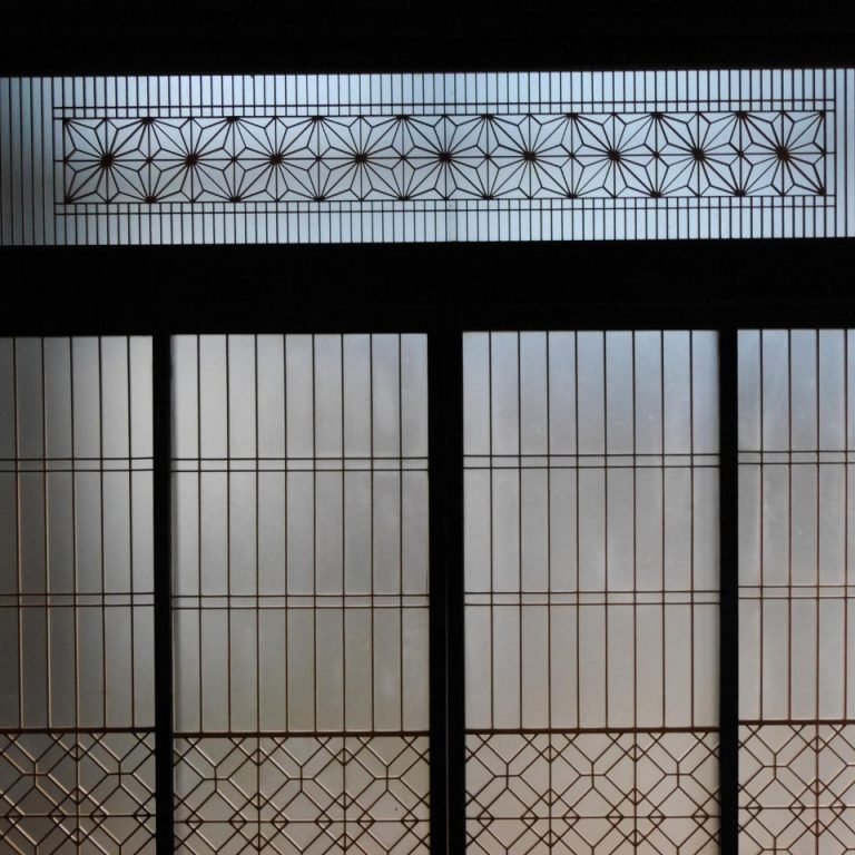 Japanese traditional sliding door